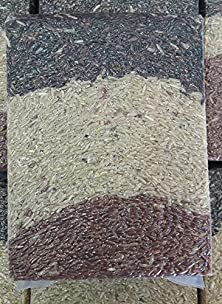 buy Three Musketeers - Mixed Organic Brown Rice - 1 Kg. In Vacuum Bag From Thailand