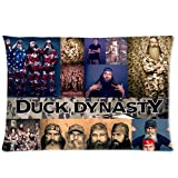 Hipster Active Duck Dynasty Custom Rectangle Pillowcase Pillow Cases Cover 20x30 (one side) American Reality Show Camo