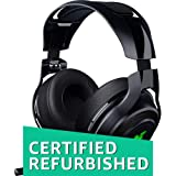 Razer Mano`War Wireless 7.1 Surround Sound Chroma Headset Black (Certified Refurbished) (Color: Black)