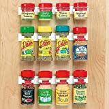 Spice Rack Storage/Organizer- Organizes 12 spice jars
