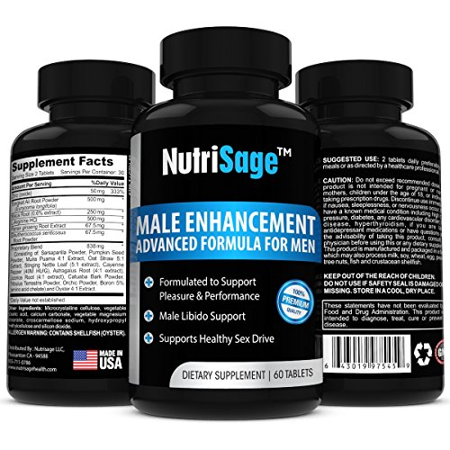 Best-Male-Enhancement-Supplement-By-NutriSage-Top-Rated-Libido-Enhancer-Male-Sexual-Booster-With-Maca-Root-Increased-Sex-Performance-Stamina-High-Quality-Natural-Testosterone-Pills