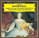 ハイドン:交響曲第44番「悲しみ」、第45番「告別」、第48番「マリア・テレジア」