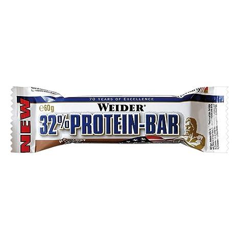 Weider 32% Protein Bar 24 x 60g Riegel Haselnuss