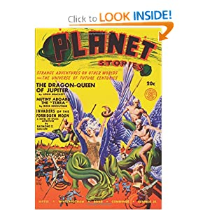 Planet Stories - Summer 41: Adventure House by Raymond Z. Gallun, John P. Gunnison, Frederick A. Kummer Jr. and Ross Rocklynne