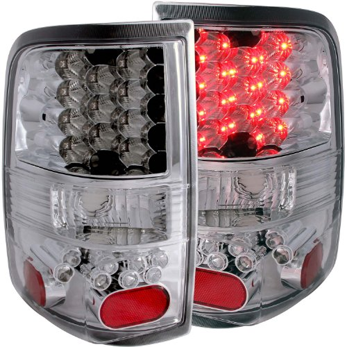 Sold in Pairs Anzo USA 511055 Chevrolet Silverado Black LED w Parking Light Assembly //Amber Reflectors