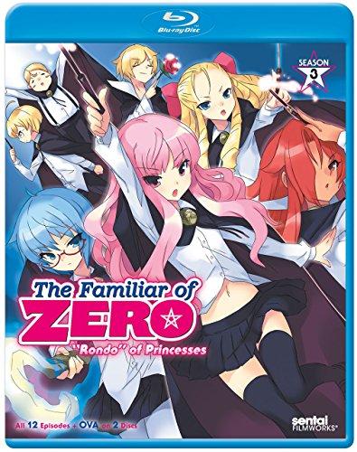 ゼロの使い魔 ~三日姫の輪舞~:シーズン3 コンプリート・コレクション 北米版 / Familiar of Zero: Rondo of Princesses [Blu-ray][Import]