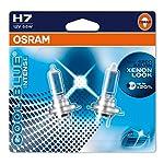 Osram 64210CBI-02B COOL BLUE INTENSE H7 Halogen, Scheinwerferlampe, 12V, Doppelblister, 2 Stück, Anzahl 2