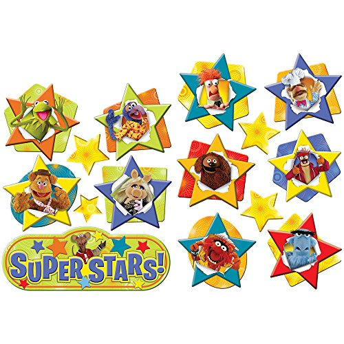 Paper Magic Eureka Muppets 2-Sided Deco Kit