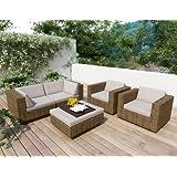 Sonax Z-273-TPP Park Terrace 5-Piece Sofa Patio Set at Sears.com