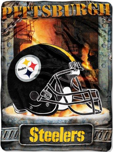 Pittsburgh Steelers Fleece Blanket Throw 60X80 front-486663