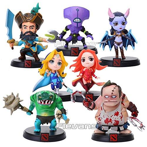 DOTA-2-18cm-7pcs-Kunkka-Lina-Pudge-Queen-Tidehunter-CM-FV-PVC-Action-Figures-Collectible-Toys