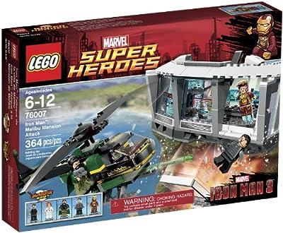 LEGO Super Heroes Iron Man Malibu Mansion Attack (76007) from LEGO Superheroes