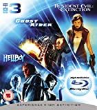Image de Ghost Rider/Resident Evil: Extinction/Hellboy [Blu-ray] [Import anglais]