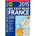AA Big Easy Read France 2015 Spiral (Road Atlas France)