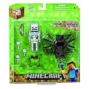 Minecraft Spider Jockey Action Figure Set by Jazwares