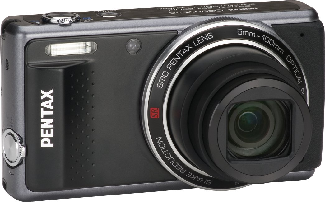Pentax Optio VS20 16MP 20X Wide Optical Zoom Digital Camera (Black) at Sears.com