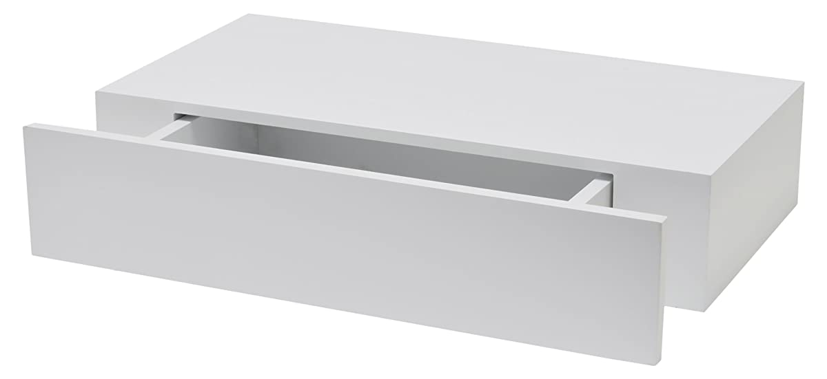 DURAline XL10 Rack with Drawer 100 mm 48 x 25 cm Lacquered White