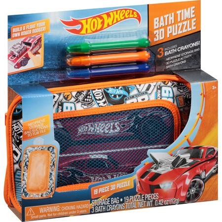 Hot Wheels Bath Time 3-D Puzzle - 1