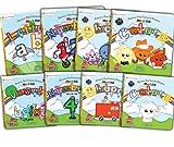 Preschool Prep Company Book Pack (Meet the Letters Lift the Flap,Meet the Numbers Lift the Flap,Meet the Shapes Lift the Flap, Meet the Colors Lift ... the Shapes Board Book, Meet the Colors Board)