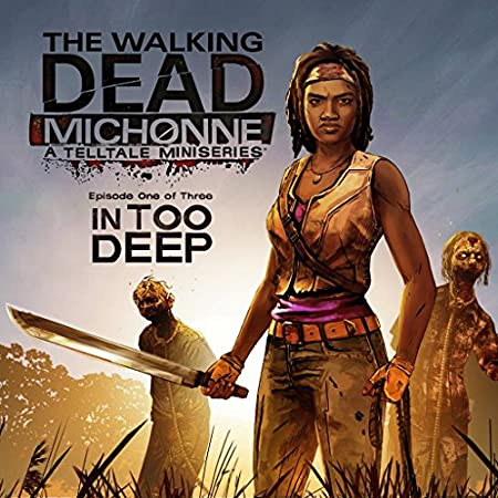The Walking Dead: Michonne - Ep. 1, In Too Deep - PS3 [Digital Code]