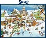 Wand-Adventskalender - Weihnachtsmark...