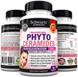 Phytoceramides 350 mg capsules - Gluten Free Powerful Anti-Aging Skin Care with Vitamins « Buy 3 & 1 is FREE Use code PHYB3G1F » Plant Derived - Formulated by Doctors - Money Back Guarantee