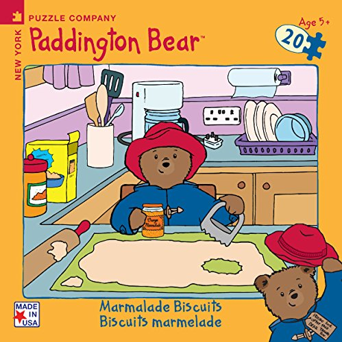 Paddington Bear Marmalade Biscuits Mini-Puzzle - 1