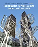 img - for Introduction To Professional Engineering In Canada, Fourth Canadian Edition book / textbook / text book