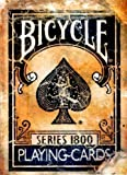 Bicycle Spielkarten Vintage 1800 Serie, blau