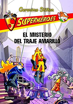 Amazon.com: El misterio del traje amarillo: Superhéroes 6 (Spanish