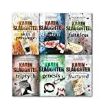 Karin Slaughter Karin Slaughter Collection 6 Books Set, Triptych, Fractured, Skin Privilege, Broken, Genesis, Faithless
