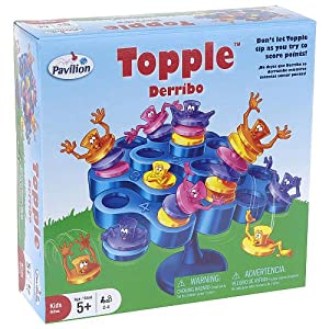 Topple Board Game