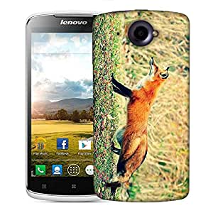 Snoogg Looking Fox Designer Protective Phone Back Case Cover For Lenovo S920