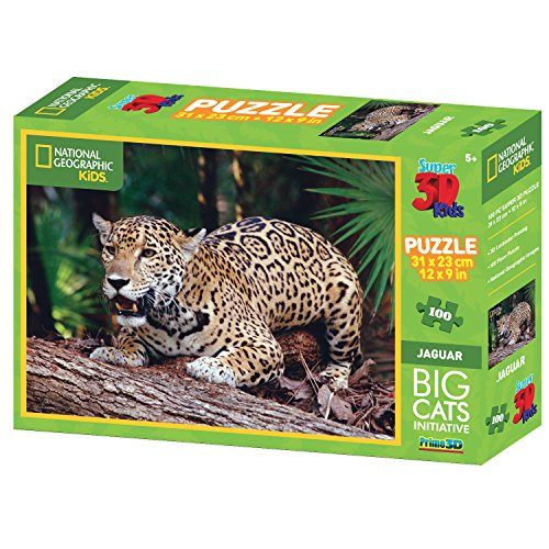 national-geographic-big-cats-jaguar-super-3d-puzzle-100-pezzi