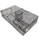 RUGGED RANCH RATTR The Ratinator Multiple Catch Live Rat Trap , 21 Rats in One (Color: Black, Tamaño: 1)