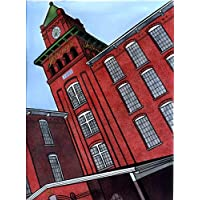 Jefferson Mill Illustration Print