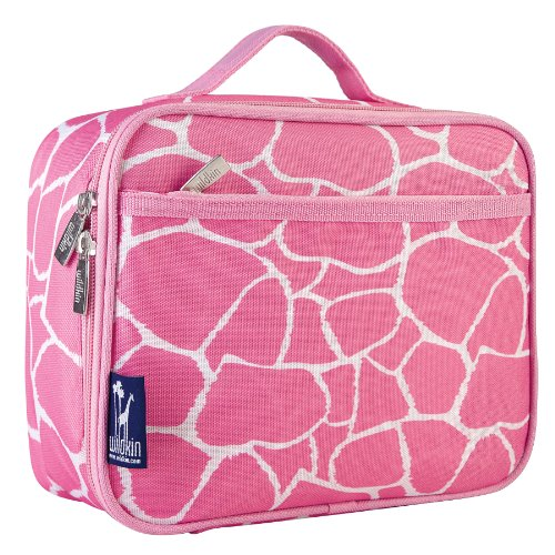 Wildkin Pink Giraffe Lunch Box - 1