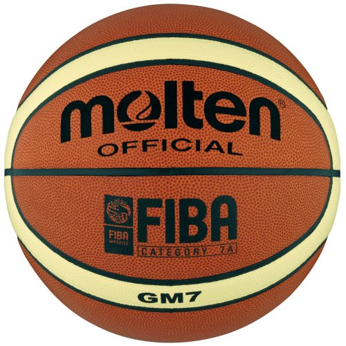 Molten Basketball - 7, Orange/Cream