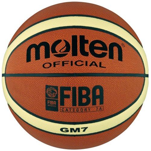 Molten Basketball - 7, Orange/Cream