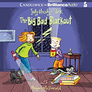 Judy Moody & Stink: The Big Bad Blackout Audiobook