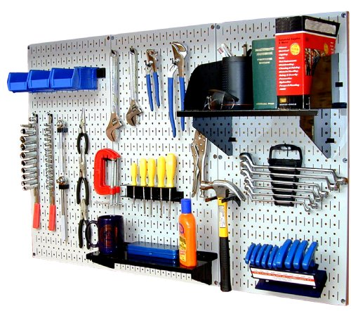 Images for Wall Control 30-WRK-400WB Standard Workbench Metal Pegboard Tool Organizer