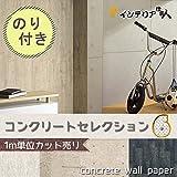 壁紙 生のり付き/コンクリート調/サンゲツ/1m単位/【CC-RE7435】/JQ