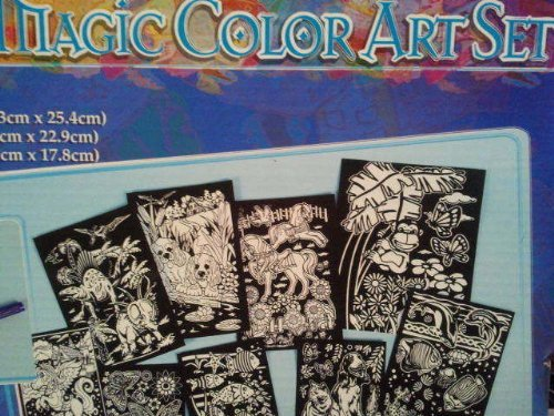 KIDS STUFF NEW NIB MAGIC COLOR ART SET CREATIVE CHILDREN LEARNING ARTIST CRAFTS
