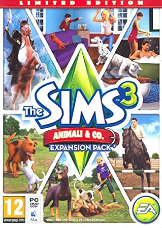 The Sims 3 Animali & Co - Limited Edition Expansion Pack