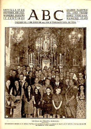 Abc. Diario Ilustrado. Año Xxxiii. N. 10699. 15-Septiembre-1937.