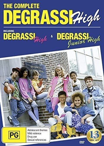 DVD : Degrassi High: Complete Series 1987-1991 (13 Discos)