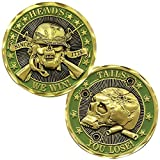 Heads We Win Tails You Lose Challenge Coin - Officially Licensed By US Army