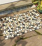 Indoor/Outdoor River Rock Floor Mat, 19-1/2''H x 30''W