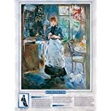 Notable Women Artists - Berthe Morisot - In the Dining Room, Poster