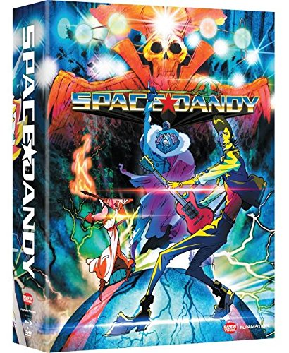 Space Dandy DVD BluRay